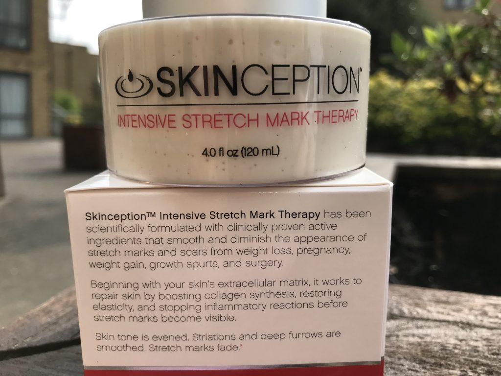 Skinception Intensive Stretch Mark Therapy Review Green Geranium
